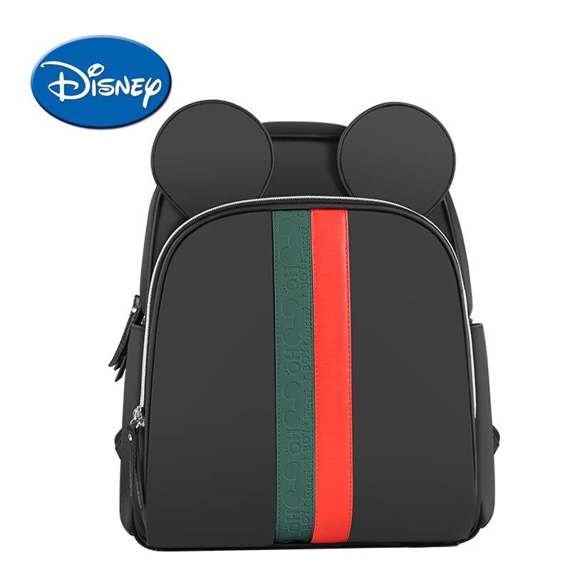 Disney Sacchetto Del Pannolino Del Bambino Mummia di Modo Maternità USB Riscaldamento Viaggio Del Sacchetto Del Pannolino Zaino Del Progettista Passeggino Sacchetto di Cura