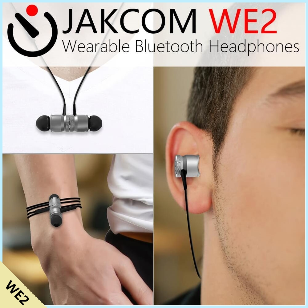 JAKCOM WE2 Wearable Bluetooth Headphones New Product of Mobile Phone Holders Stands As car mount holder suporte tablet r7 360