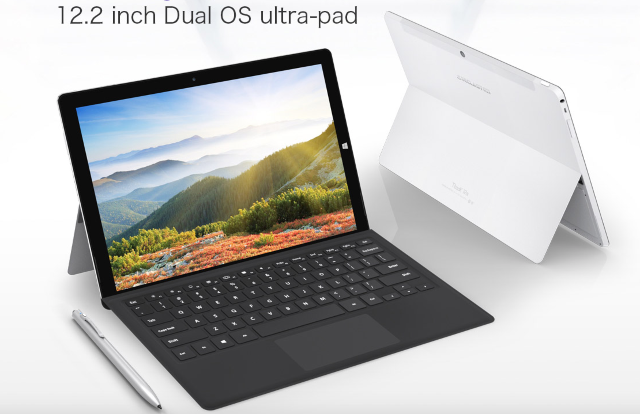 Teclast Tbook12s 2 in 1 Ultrabook Windows 10+Android 5.1 Intel Cherry Trail X5 Z8350 64bit Quad Core 4GB+64GB 12.2