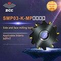ZCC. CT Боковая и лицевая фрезы SMP03-K-MP высокая производительность токарный станок с ЧПУ Инструменты Индексируемые фрезерные инструменты