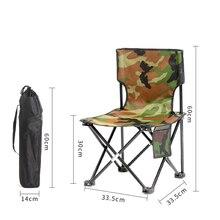 Мебель Рыбалка Стул походный складной стул с Ткань Оксфорд для сада, стул пляжа спинки пикник для семейного отдыха