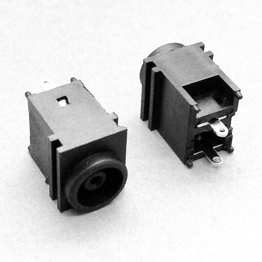 цена 1X DC IN Jack DC Power Jack Connector for Sony Vaio VGN-FZ VGN-NR VGN-FW PCG Series Power Socket 2p 180 degree