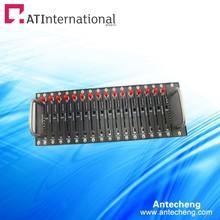16 порта Wavecom USB смс gsm gprs модем q2406b gsm sim бассейн ussd stk мобильный перезарядки Antecheng