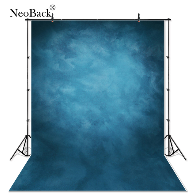 Thin Vinyl Photography Backdrop Misty Blue Backgrounds Studio Professional Portrait Premium Photography Studio Photo Backdrops