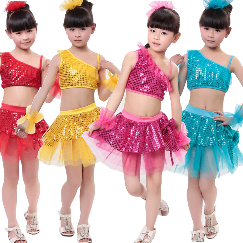 d165313c4119 Girls-Sequined-Jazz-Modern-Dancing-Costumes-dress-Kids-Children-s-Hip-Hop- Dancewear-Costumes-Set-Top.jpg