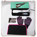 Free Bag and Glove hair extension irons professional steam hair straightener