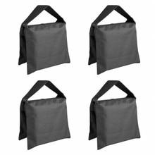 Топ предложения 4 пачки высокая производительность фото мешок с песком студия видео мешок с песком для осветительных стендов, виселицы стенд, штатив