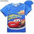 SAILEROAD 18M-13T Cars Boys Girls T Shirts Cotton New Summer Children Kids Tops Tees T Shirt For Boys Girls Costume Clothing