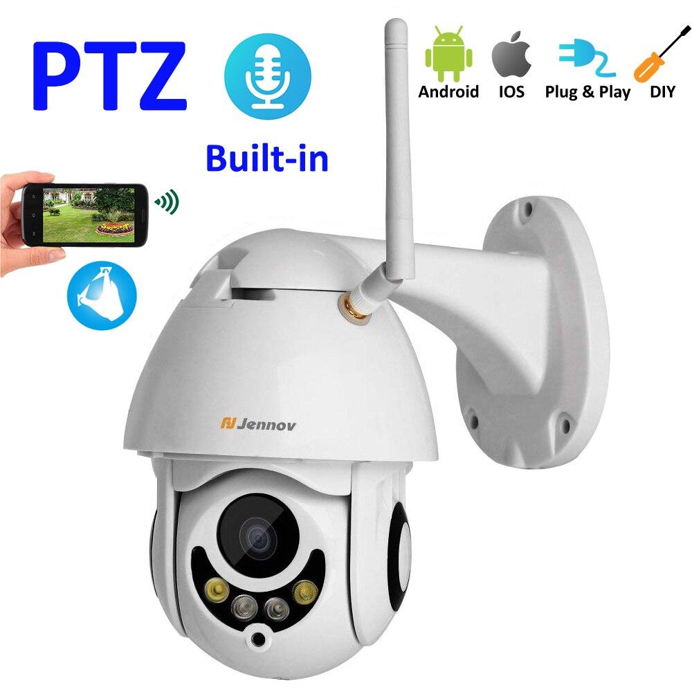 все цены на PTZ 1080P 2MP HD Wifi Outdoor Camera Home Security Wireless Camera CCTV system Video Surveillance IP Camera Wifi Night Vision онлайн