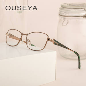 5ebb539ce870e OUSEYA Glasses Frames Clear Eyeglasses For Women