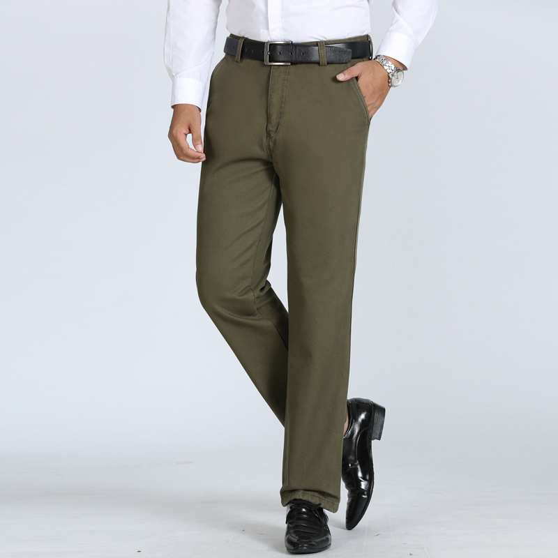 Fashion men's casual pants winter 6