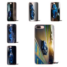 For HTC One U11 U12 X9 M7 M8 A9 M9 M10 E9 Plus Desire 630 530 626 628 816 820 830 Soft TPU Cover 2016 Ford GT Blue Car Wallpaper(China)