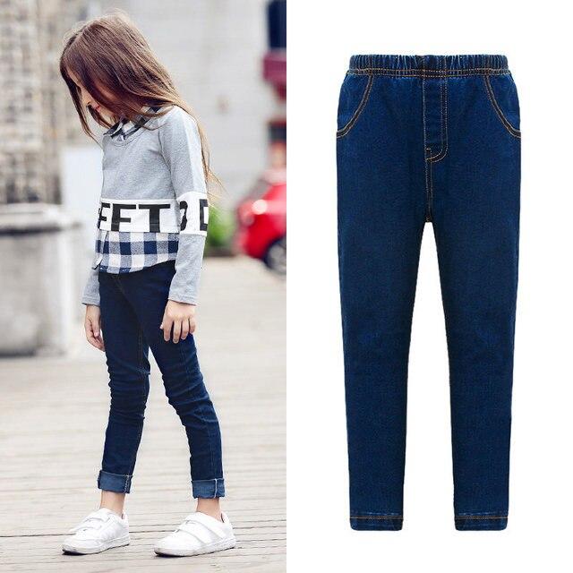 2b8294b8e71d83 2016 Zomer Jeans voor Meisjes Kleding voor Teen Meisjes Tiener Kleding  Kinderen Broek leeftijd 5 6