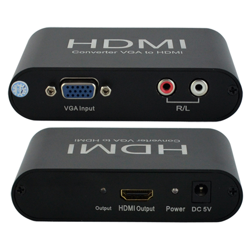 HighTek HK-VTH VGA/YPbPr to HD converter VGA to HD converter box hightek hu 03 universal usb to rs485 422 converter adapter