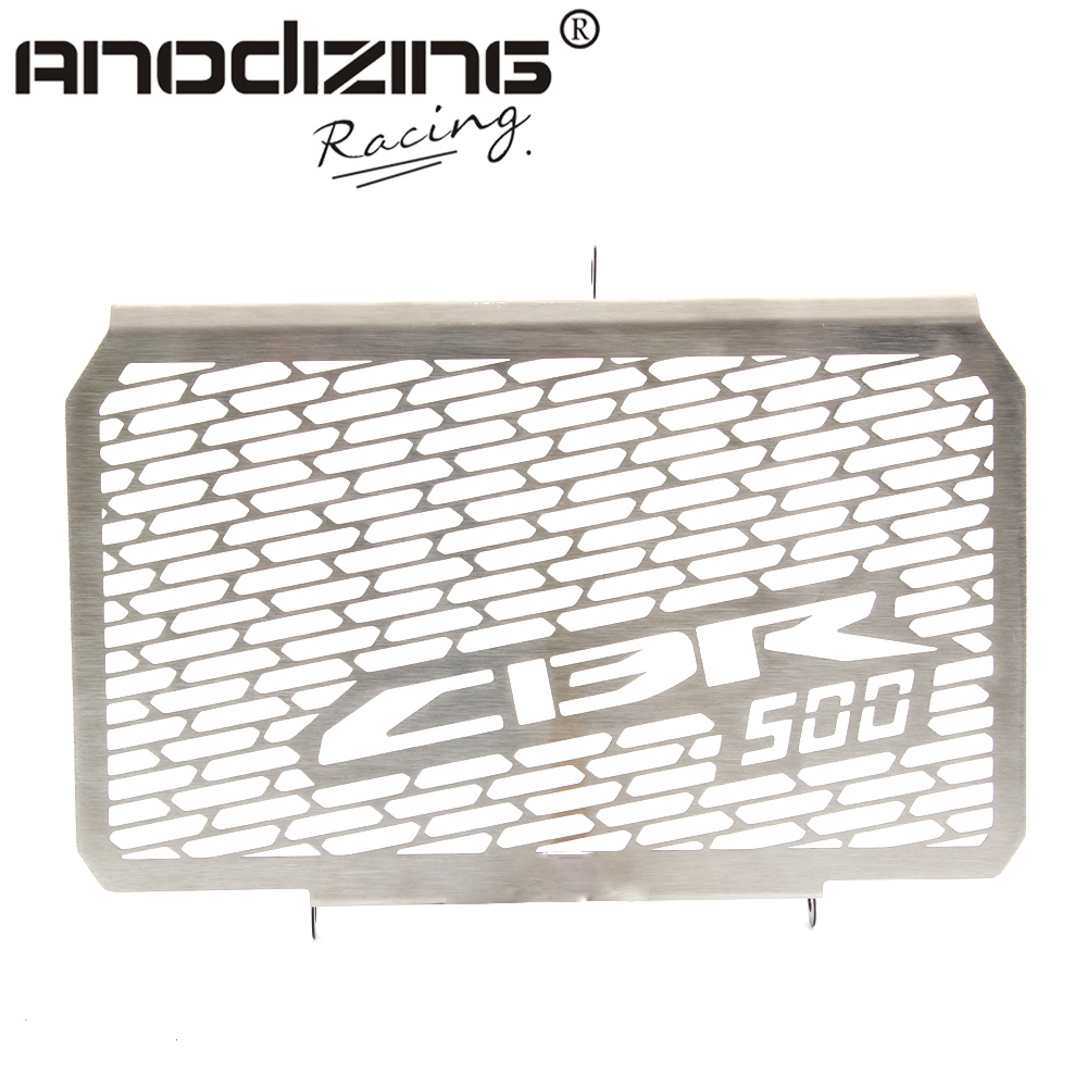 Radiator Grille Grill Cover Protector Guard For HONDA CBR500 2013-2014 arashi motorcycle radiator grille protective cover grill guard protector for 2008 2009 2010 2011 honda cbr1000rr cbr 1000 rr