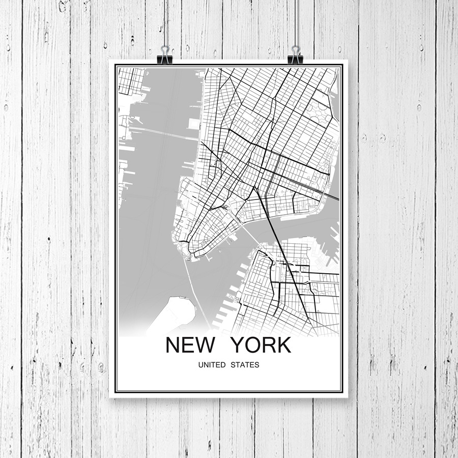 Manila philippines world city map print poster abstract coated paper manila philippines world city map print poster abstract coated paper bar cafe living room home decoration wall sticker 42x30cm in wall stickers from home gumiabroncs Images