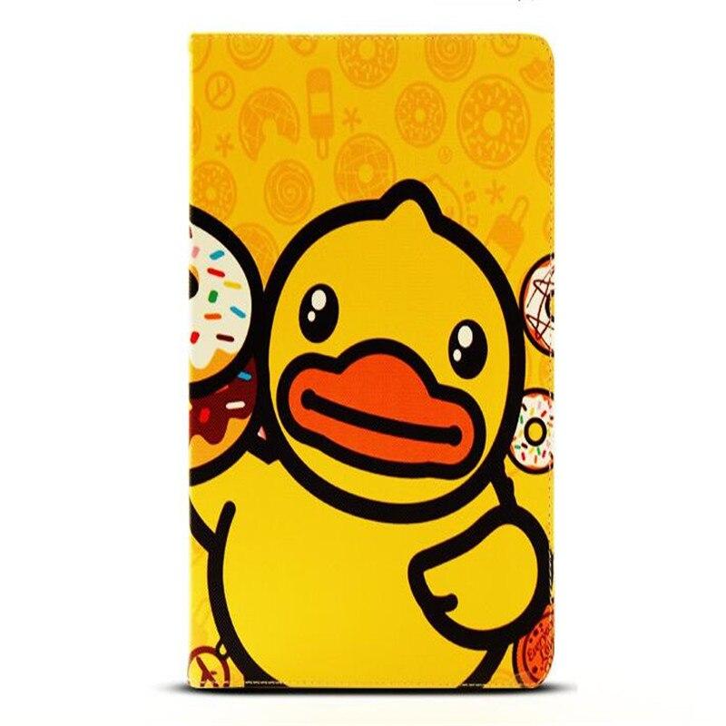 Us 1698 かわいいキャラクター黄色アヒルパターンレザーカバー用ipadエア1 2共通ブランド品質タブレットケース付きパッケージ Aliexpress Alibaba グループ上の パソコン オフィス からの タブレット 電子書籍ケース の中
