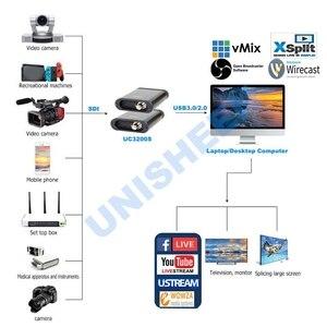 Image 3 - USB3.0 60FPS SDI HDMI wideo pudełko do przechwytywania FPGA Grabber klucz gry na żywo strumień transmisji 1080P OBS vMix Wirecast xsplit