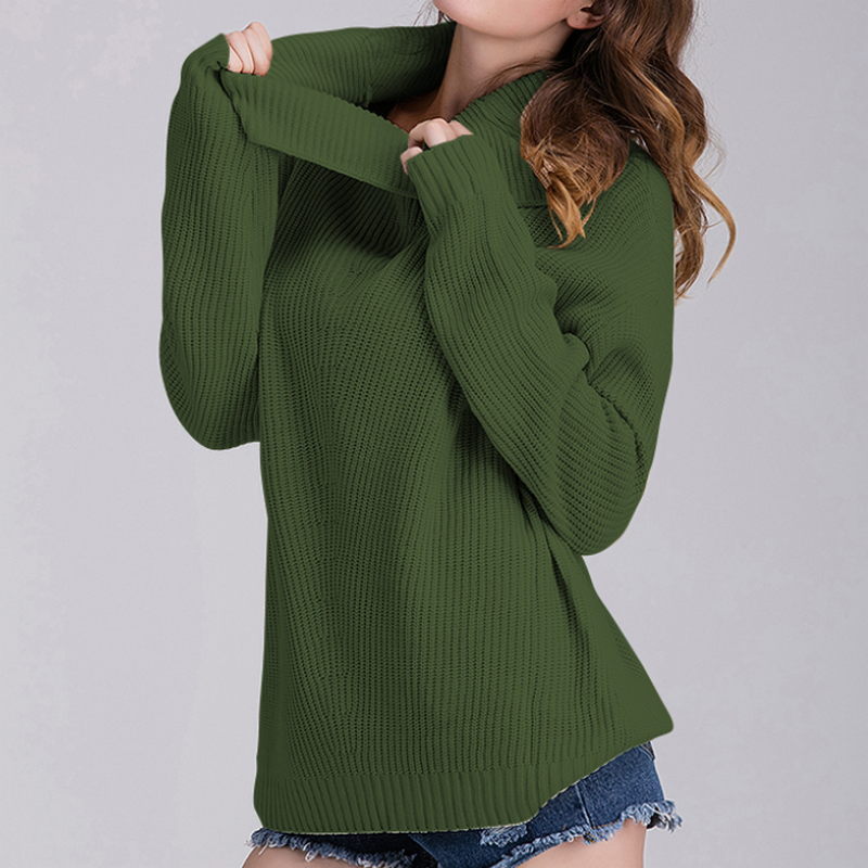 KYMAKUTU Store KYMAKUTU Solid Turtleneck Pull Femme 2017 Soft Autumn Winter Jumper All Match Fashion Sueter Mujer Long Sleeve Ladies Coats