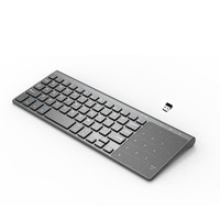 Wireless Keyboard with Touchpad for Computer Gaming 2.4GHz Wireless Keyboard Portable for Laptop Tablet|Keyboards| |  -
