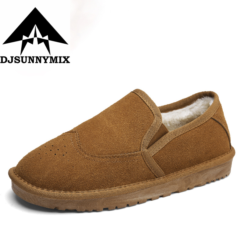 DJSUNNYMIX Brand Ankle font b boots b font for men font b boots b font waterproof