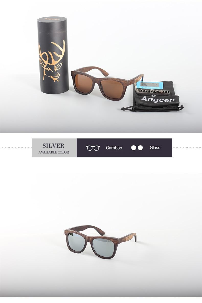 Angcen Unisex Polarized Sunglasses for Men Women 16
