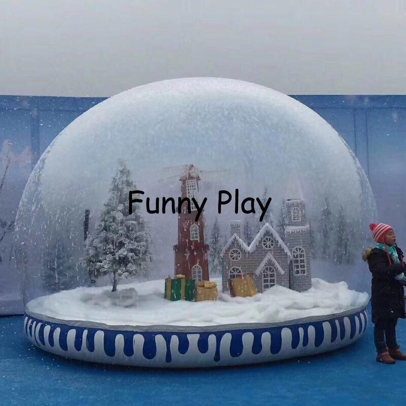 snow globe ball for Christmas Decoration,inflatable diy ...