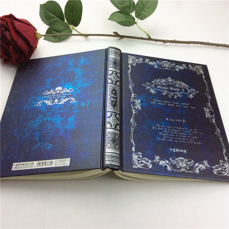 Vintage Hardcover Magic Diary Theme Book Big Size Notebook Sketch ...