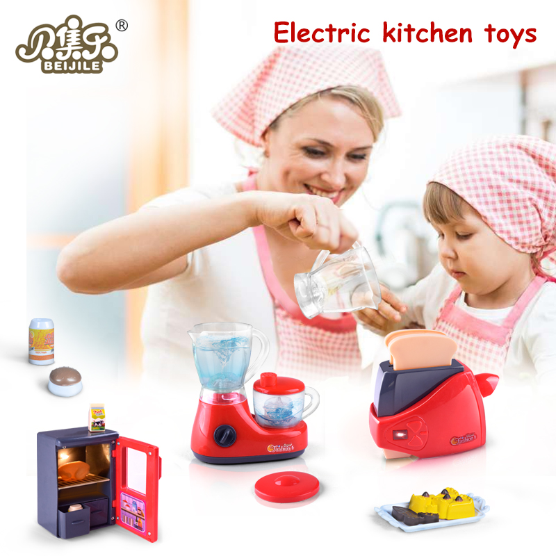 Mini kitchen toys cooking pretend role play game kitchen for Mini kitchen playset