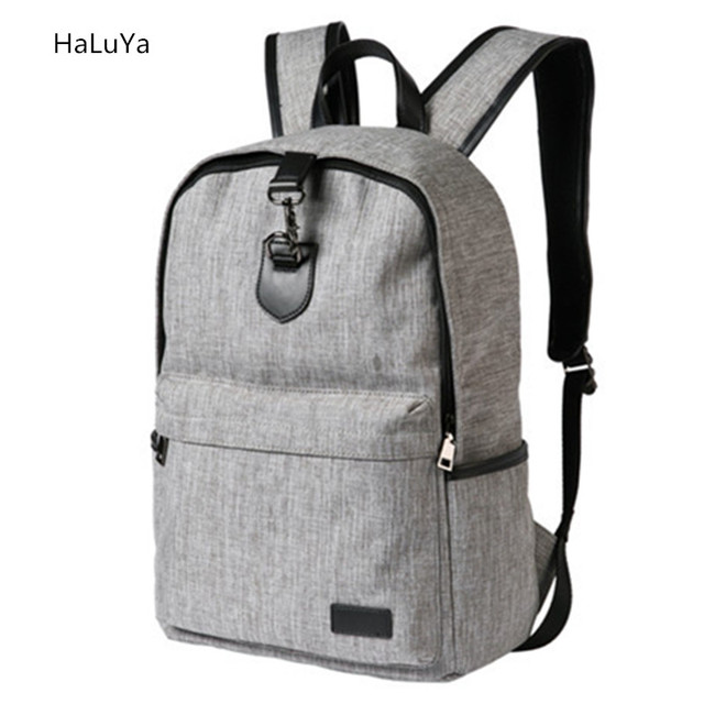 Large Capacity Laptop Backpack Schoolbag Cool Canvas Men's ...