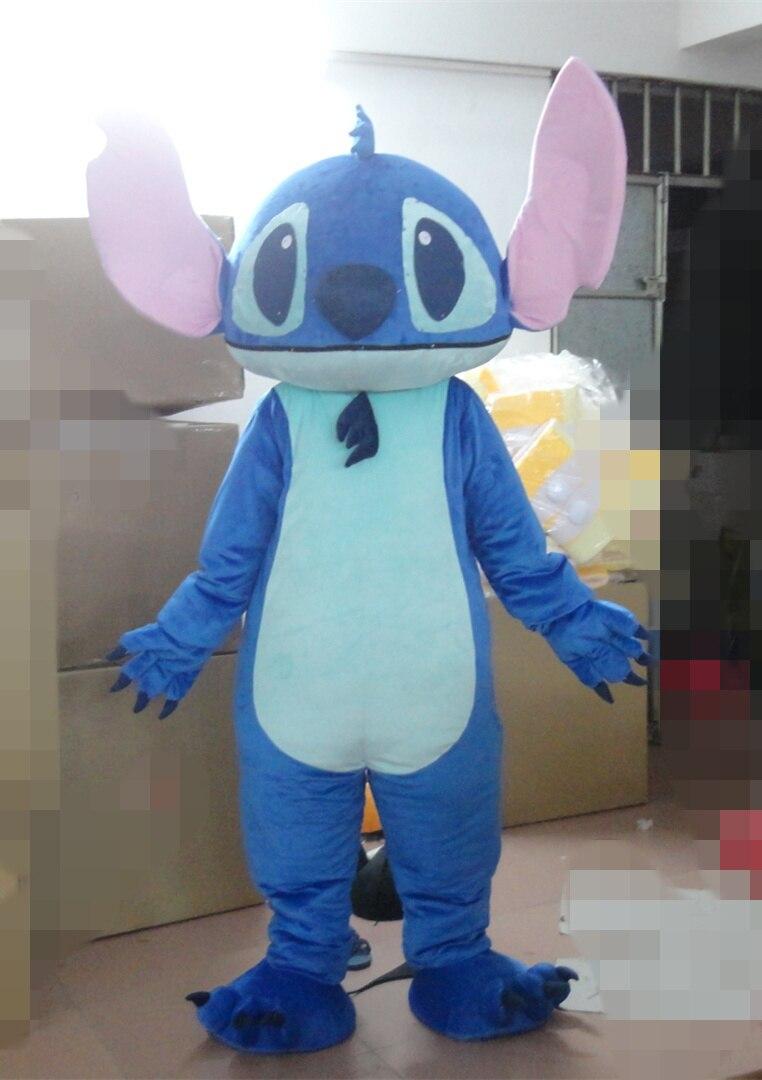 Custom Made animal mascot Lilo & Stitch Mascot Costume Stitch Mascot Costume Lilo & Stitch Cosplay Costume for adults