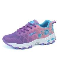 נשים נעלי ספורט באיכות גבוהה סגול אביב/סתיו נעלי ספורט אתלטי נעליים לנשים נעלי ריצה חדשה נעלי טניס 2018 נשים