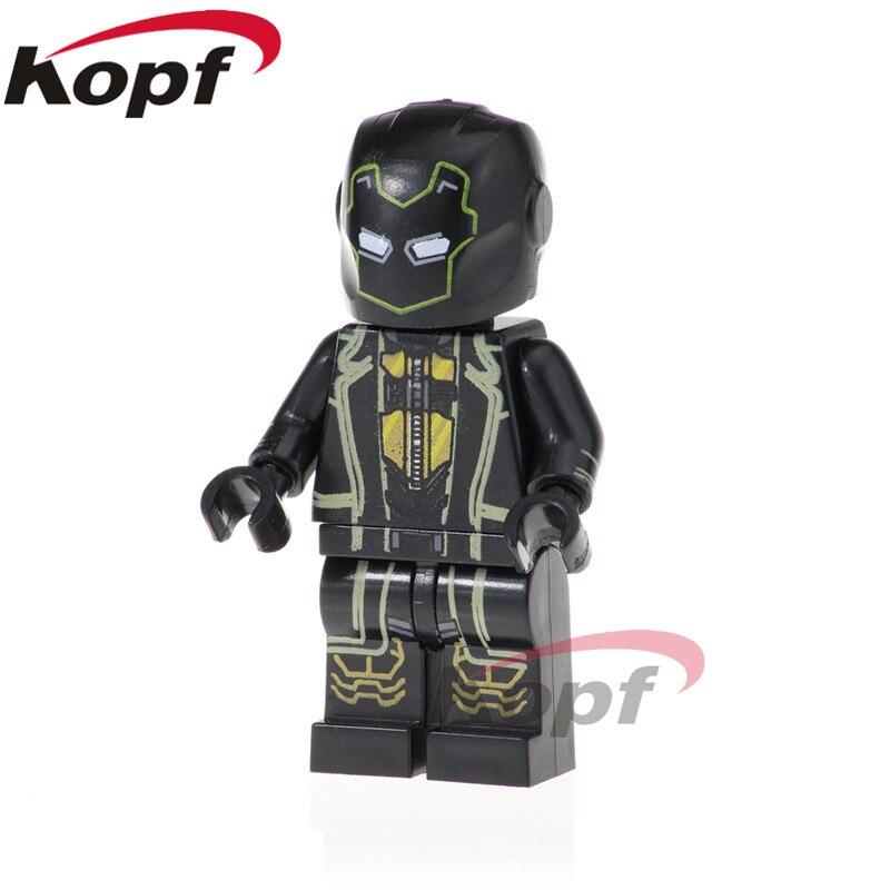 PG1568 Super Heroes Ronin Black Panther Pepper Potts Doctor Strange Bricks Building Blocks Action Figure For Children Toys Gift