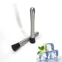 1 шт. нержавеющая сталь Swizzle stick лимонный цитрусовый давилка инструменты для барменов бар сломанные инструменты для эскимо DIY Бар инструменты OK 0423