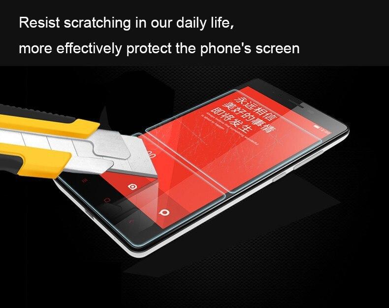 3 unids lote borde redondeado ultrafino protector de pantalla de vidrio  templado para xiaomi redmi 1s hongmi red Rice redrice 1 s película  protectora ad1d9dbc0b0