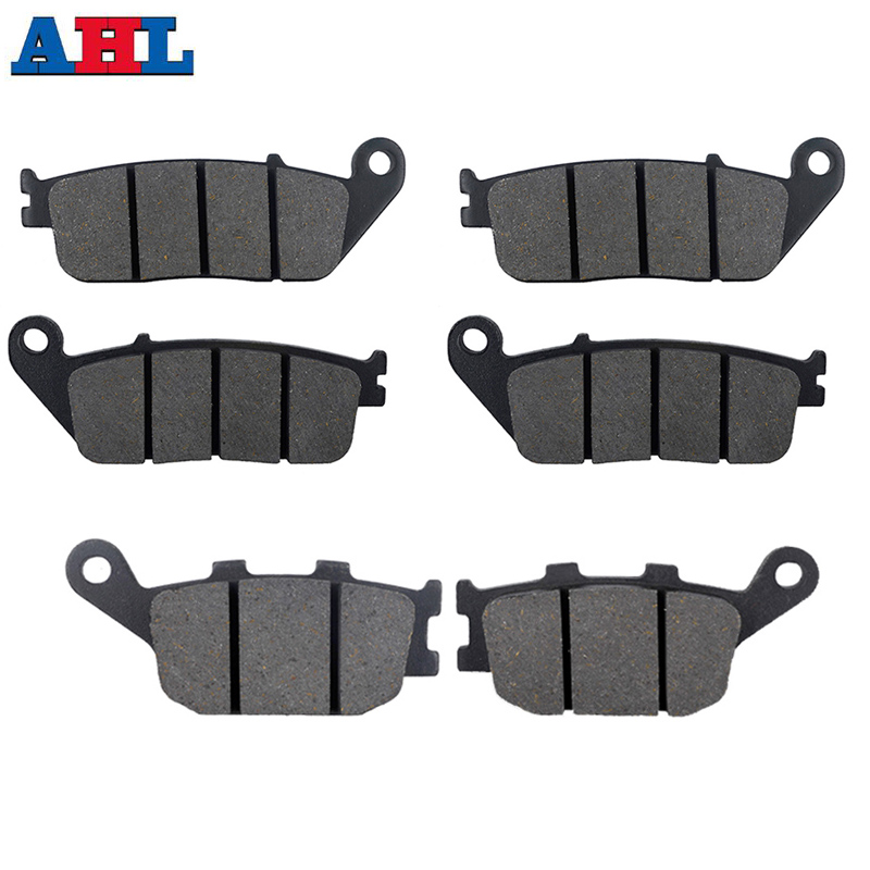 Motorcycle Front Rear Brake Pads For KAWASAKI Z750 ABS ZR750L ZR750M 07-11 KLE650 Versys LT 2016 Z650 EER650 / Non ABS 2017(China)