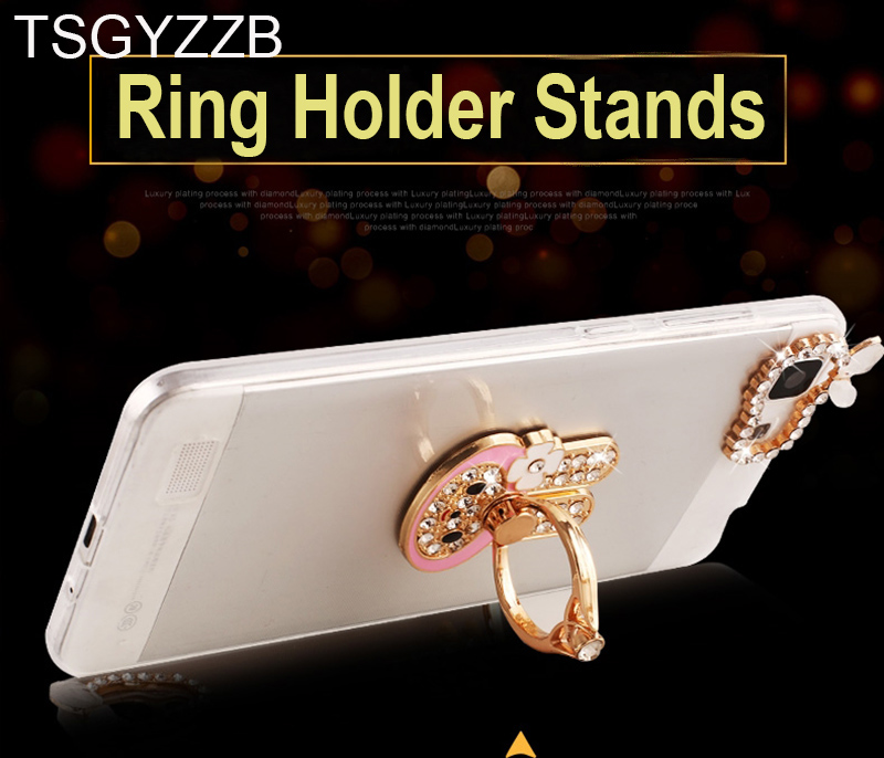 Sparkling Stars Transparent Soft TPU Phone Back Cover Cases