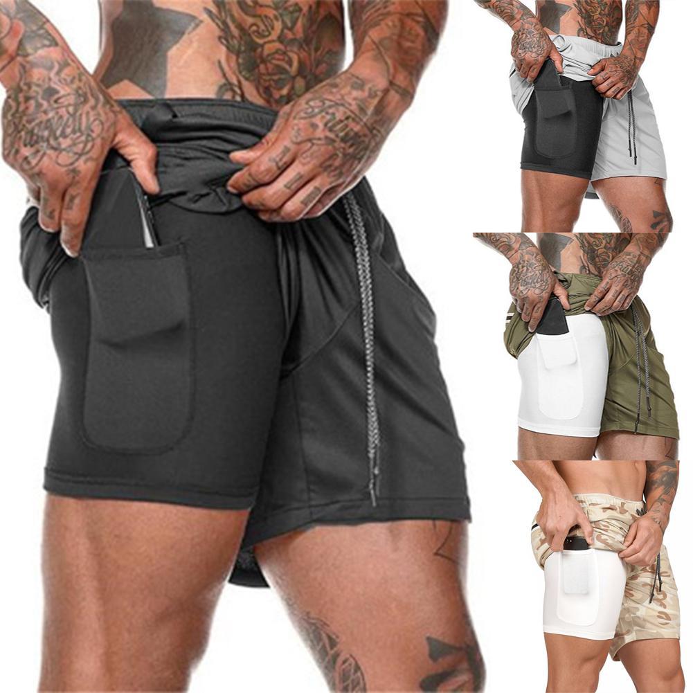 HobbyLane Men Large Size Fitness Training Jogging Sports Quick-drying Shorts