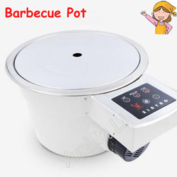 Smoke-free Barbecue Oven Commercial Korean Barbecue Pit Hot Pot Infrared Environmental Electric Oven XYK20000