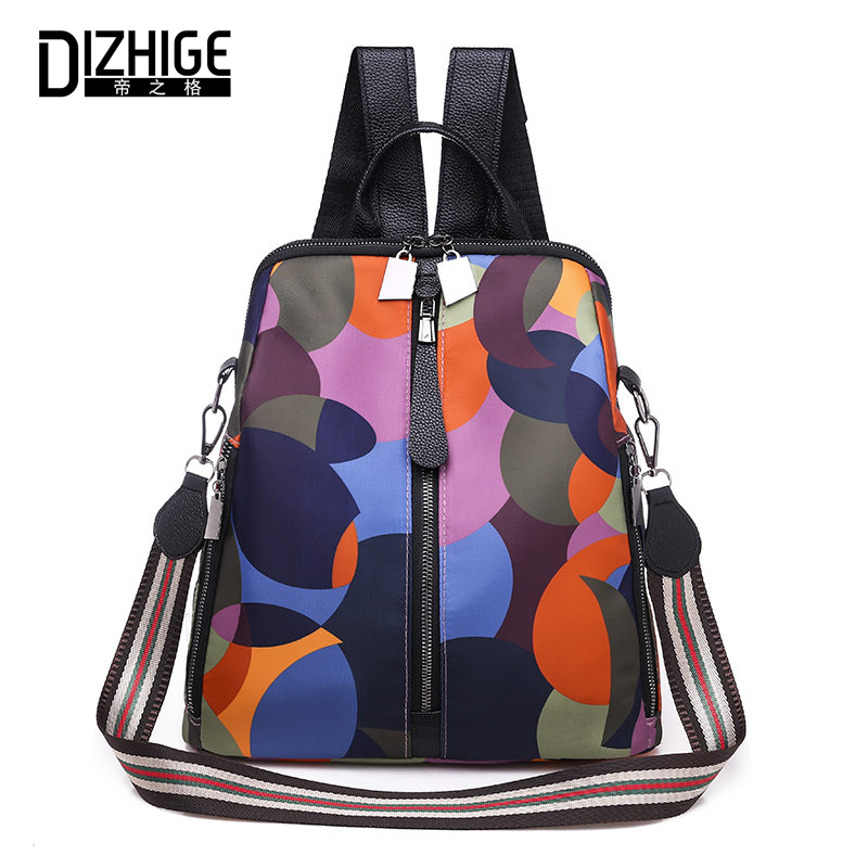 DIZHIGE Brand Luxury Waterproof Oxford Women Backpack Fashion High Quality School Bags For Women Zipper Multifunctional Bag NewDIZHIGE Brand Luxury Waterproof Oxford Women Backpack Fashion High Quality School Bags For Women Zipper Multifunctional Bag New