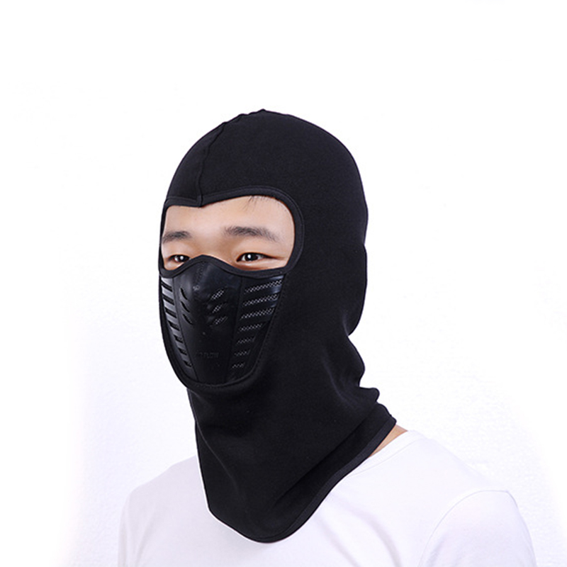 Outdoor Sport Bike Walking Cycling Neck Face Winter Warm Mask Men WomenThermal Flannel CS Hat Ski Hood Helmet Caps 6 Colors