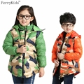 New Fashion Children Winter  Jackets for Boys and Girls Baby Snowsuit Kids Clothes Boys Down Coats children's parka Outwear