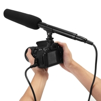 High Quality Professional Shotgun Interview Directional Condenser Microphone for DSLR DV Camcorders Video Photography Accessorie
