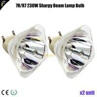 2units P VIP 230W E20.6 Spot Moving Head Light Lamp Bulb 7r/r7 230watt 7R 230W Replacement Point Bulb Lamp Source