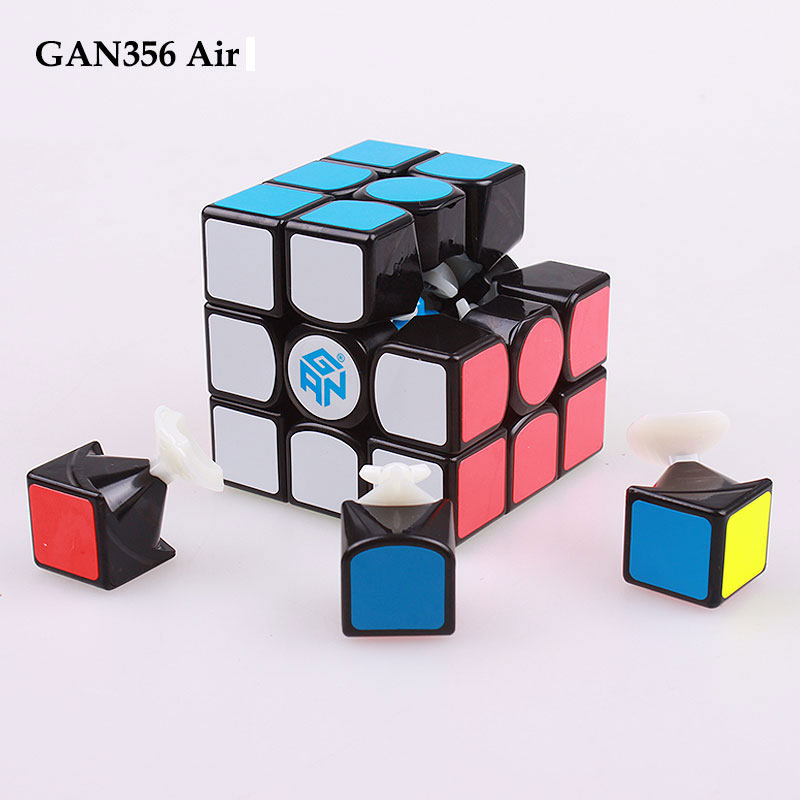 GAN 356 Air 3x3x3 Stickers master standard puzzle magic speed cube professional gans cubo advance version toys for children qiyi megaminx magic cube stickerless speed professional 12 sides puzzle cubo magico educational toys for children megamind