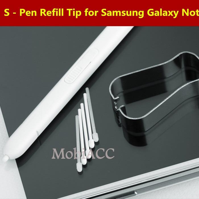 UnermüDlich Original Refill Tipp Für Samsung Galaxy Note 5/4/3 Stylus Pen Ersatz Nib Für Samsung Galaxy Note Rand Mit Clip Handy-stift