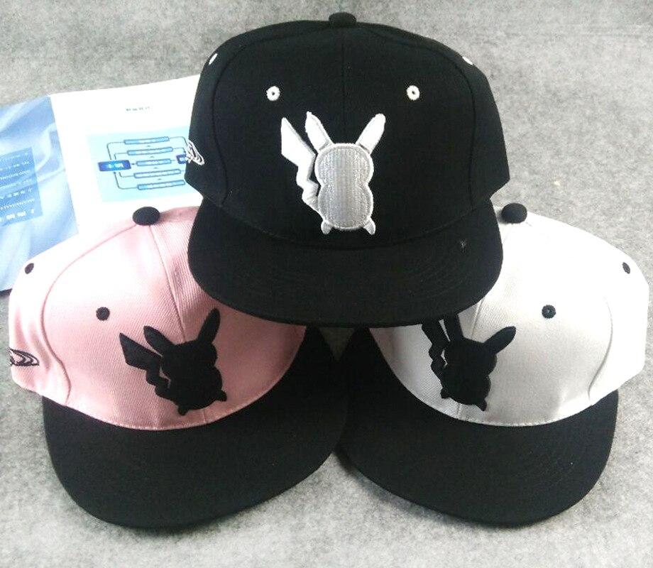 2016 Hot Cosplay Mobile game Pokemon Go Team Valor Team Mystic Team Instinct snapback baseball Cap hat freeshipping