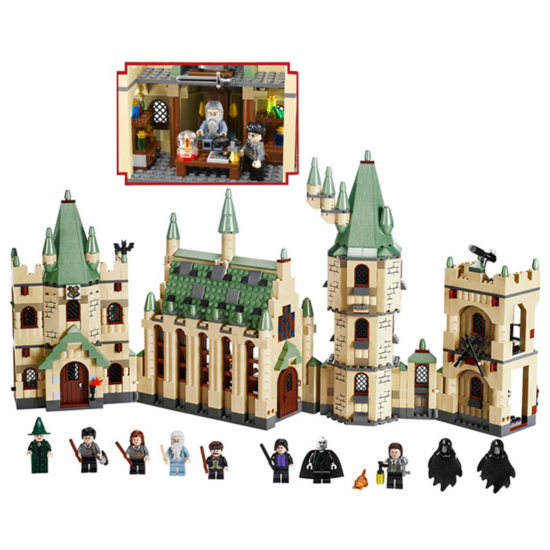 1340pcs Hogwarts City Puzzle Assembling Model Building Blocks Kit Toys Education Gifts