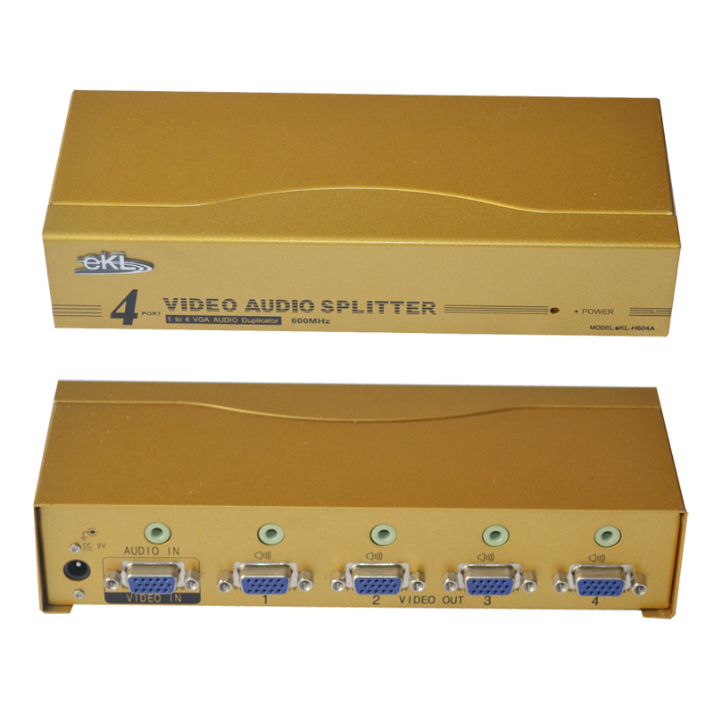 Vga splitter belt 600mhz hd splitter ekl