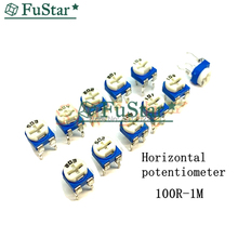 20pcs RM065 RM-065 100 200 500 1K 2K 5K 10K 20K 50K 100K 200K 500K 1M ohm  Trimmer Potentiometer variable resistor Inductance 10k 20k 50k 100k 250k 500k alps rk27 volume potentiometer dual 10 500kax2 slotted japan rotary switch 6ppin